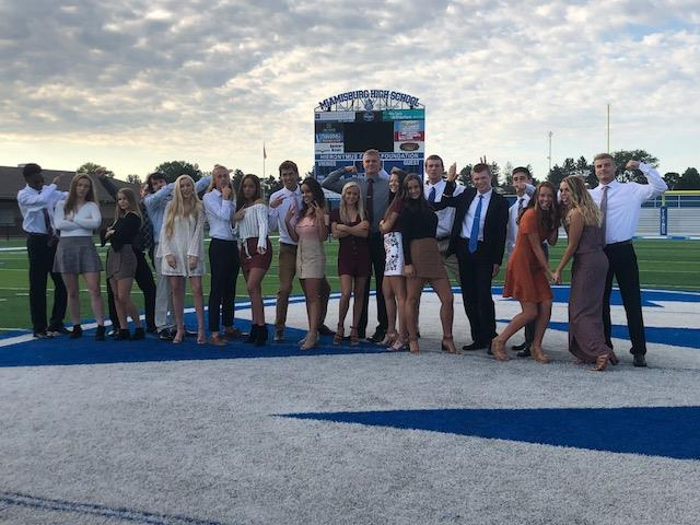 Silly Homecoming Court 2018
