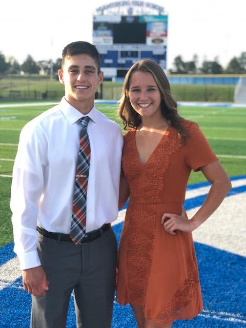 Joey Yerkins and Leah Amsler